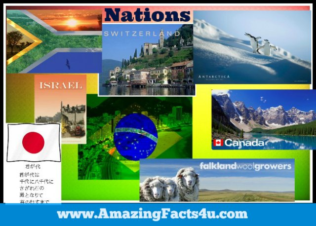 Nations Amazing Facts 4u