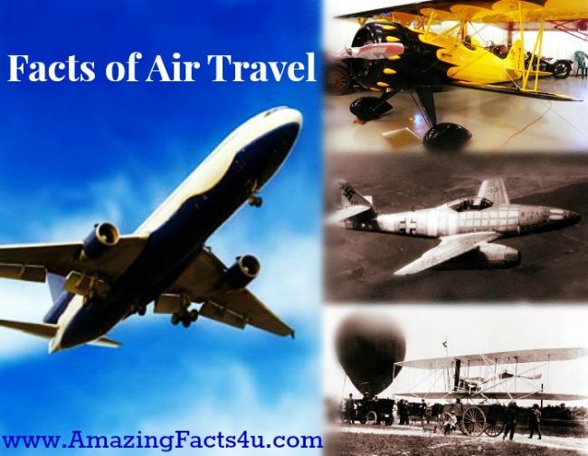 Air Travel Amazing Facts 4u