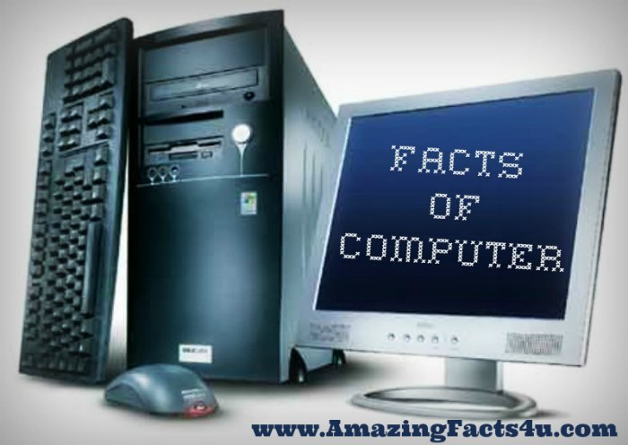 Computer Amazing Facts 4u