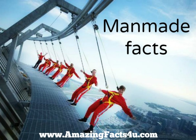 Manmade Amazing Facts 4u