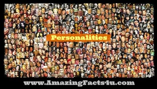 Personalitie Amazing Facts 4u