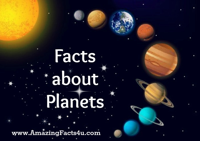 Planets Amazing Facts 4u