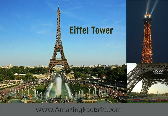 Eiffel Tower Amazing Facts 4u