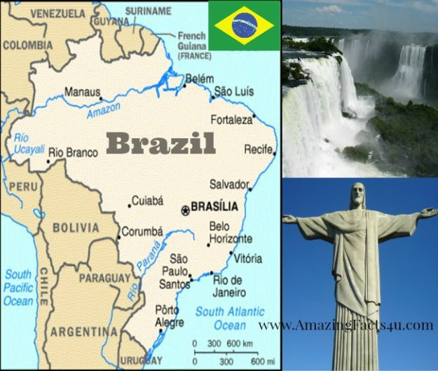 Brazil Amazing Facts 4u