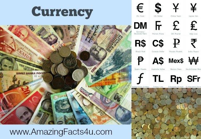 Currency AmazingFacts 4u