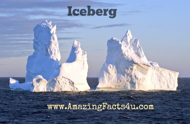 Iceberg Amazing Facts 4u