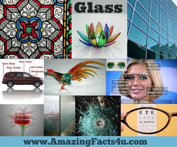 Glass Amazing Facts 4u
