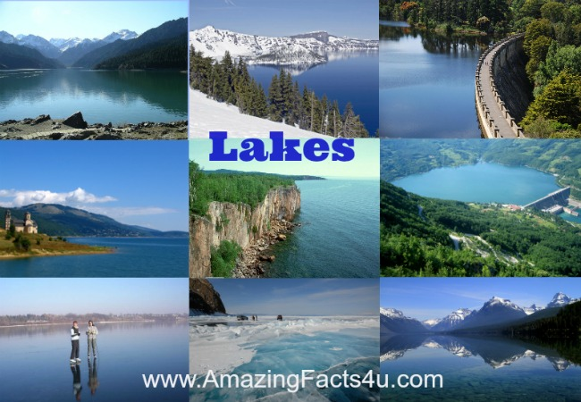 Lakes Amazing Facts 4u