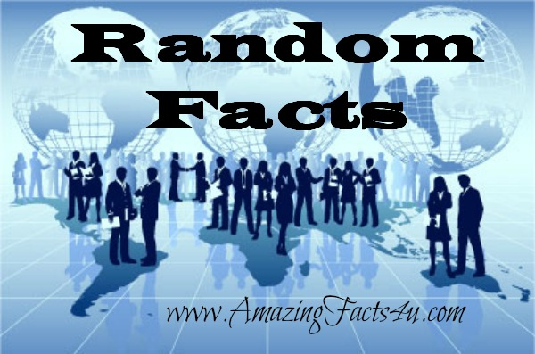Random Amazing Facts Part 16