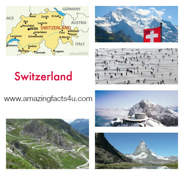 Switzerland Amazing facts 4u Part 2