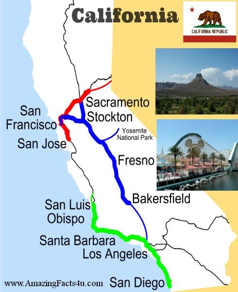 California Amazing Facts 4u