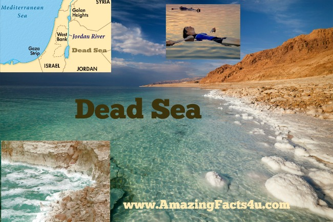 Dead Sea Amazing Facts 4u