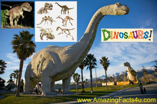 Dinosaurs Amazing Facts 4u