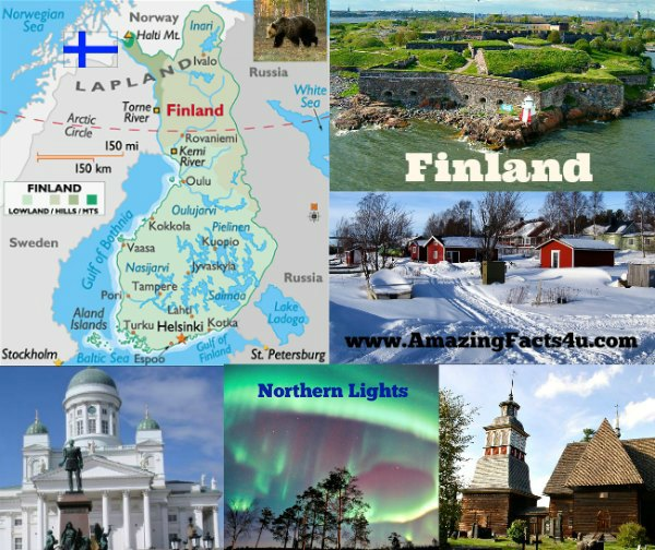 Finland Amazing Facts 4u