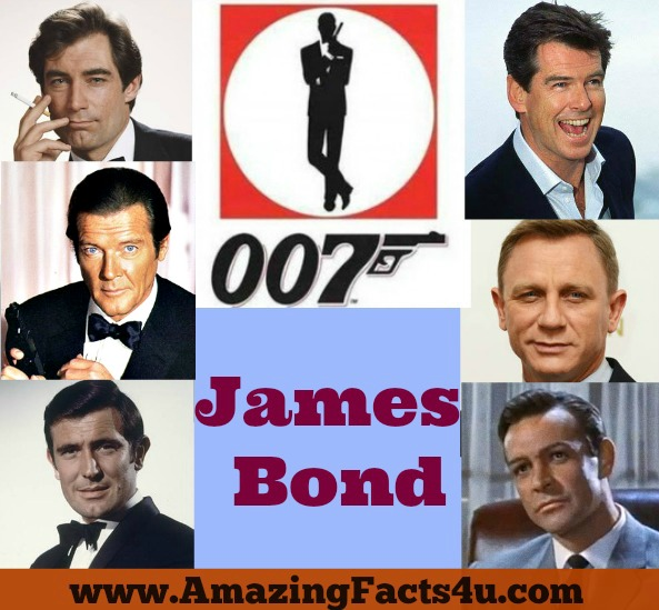 James Bond Amazing facts 4u