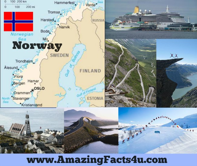 Norway Amazing Facts 4u