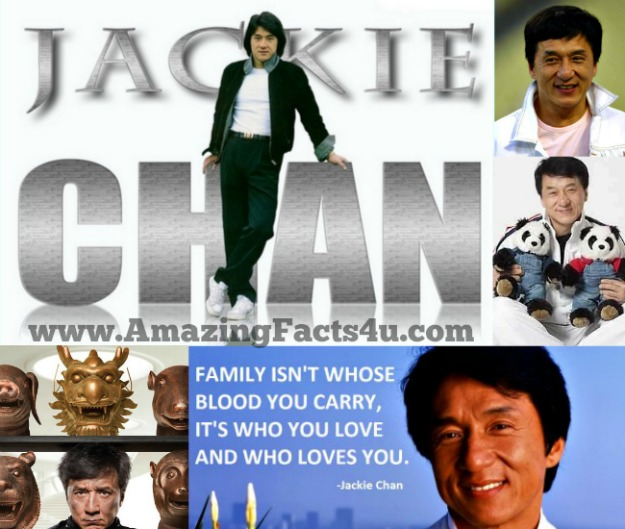 Jackie Chan Amazing Facts 4u