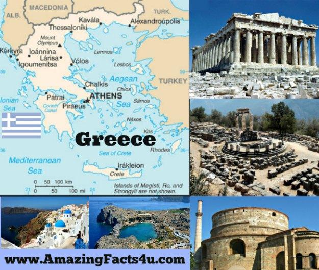 Greece Amazing Facts 4u
