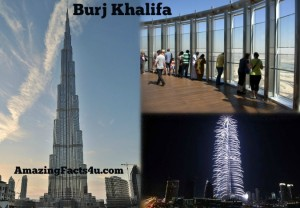 Burj Khalifa Amazing facts