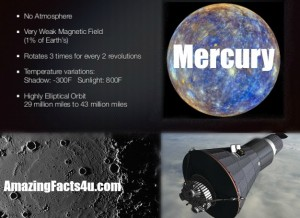Mercury Amazing Facts