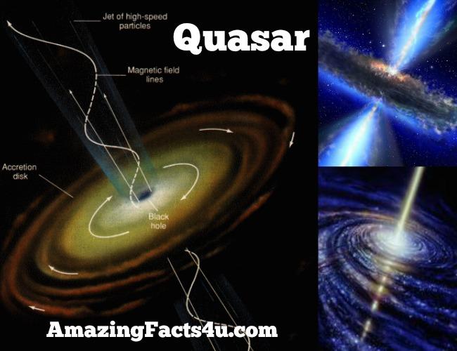 Quasar Amazing facts