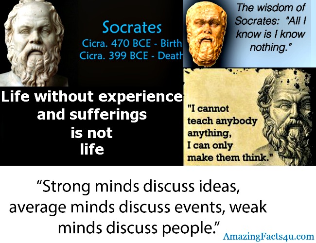 Socrates Amazing Facts