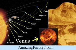 Venus Amazing facts
