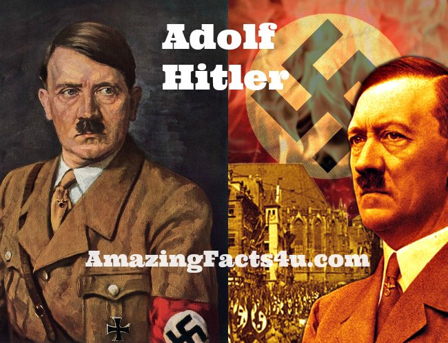 Adolf Hitler Amazing Facts