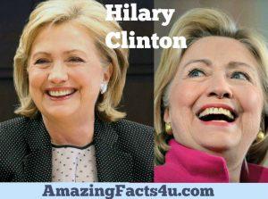 Hillary Clinton Amazing Facts