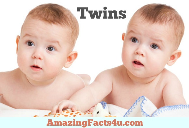 Twins Amazing facts