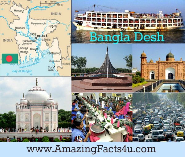 Bangla Desh Amazing facts