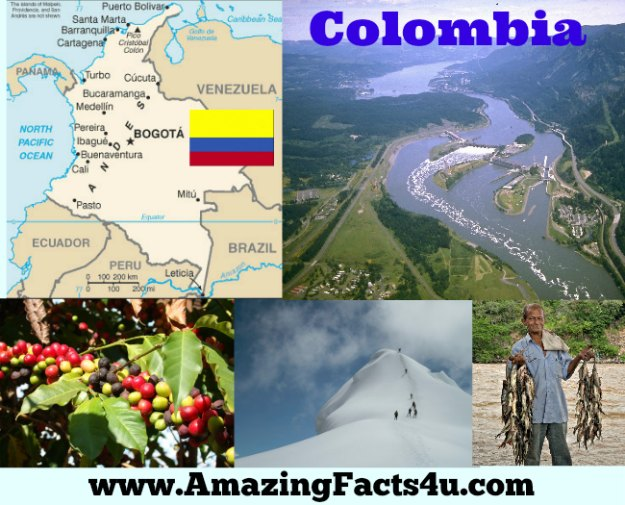 Colombia Amazing Facts