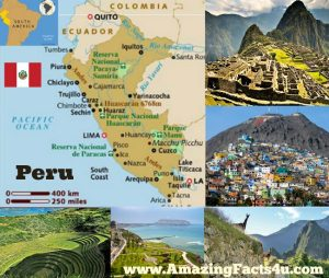 Peru Amazing facts