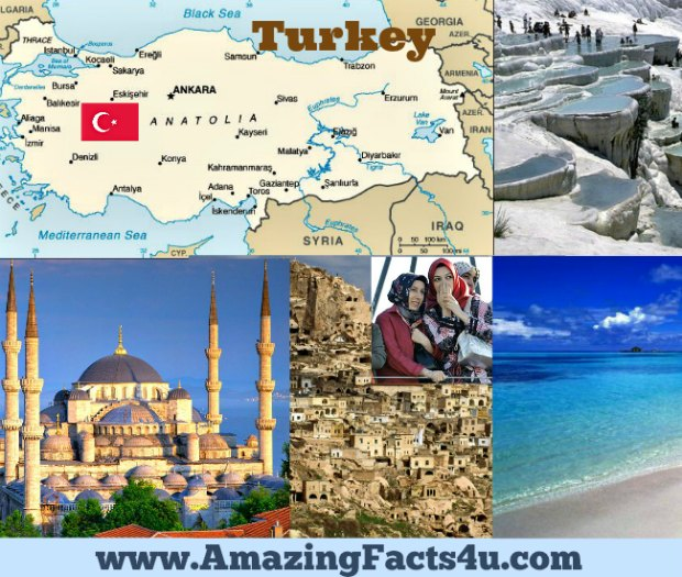 Turkey Amazing Facts