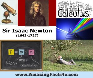 Amazing Facts Isaac Newton